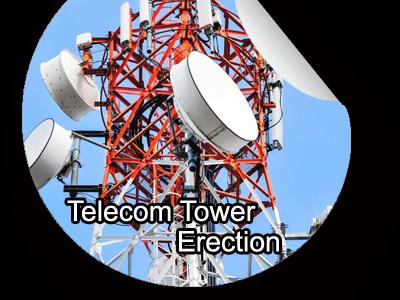Telecom Tower Erection